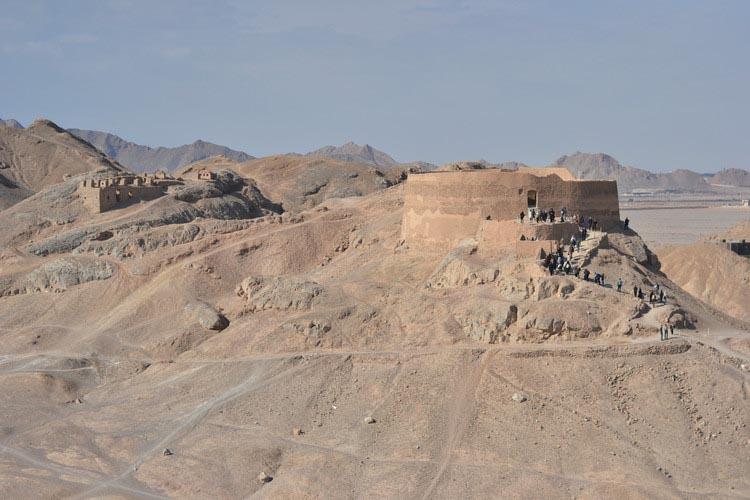تپه خاموشان - برج خاموشان - شاهکارهای معماری ایرانی