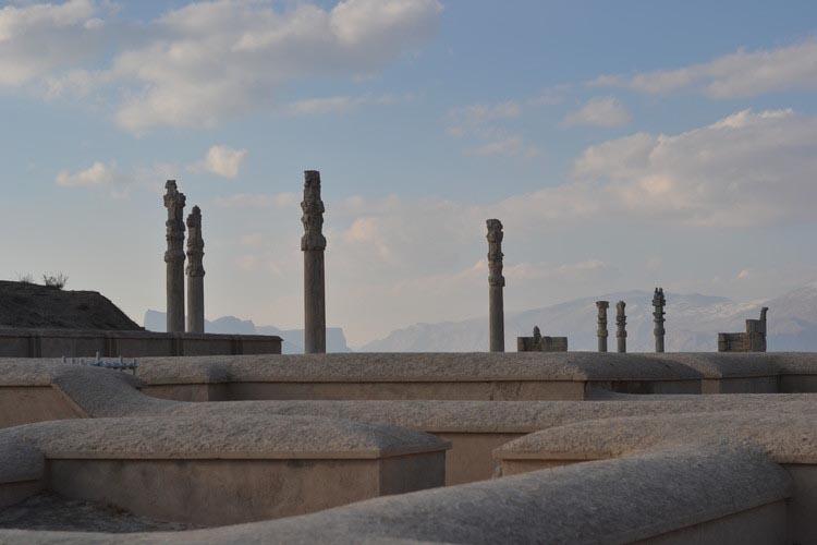 شاهکارهای معماری ایرانی تخت جمشید