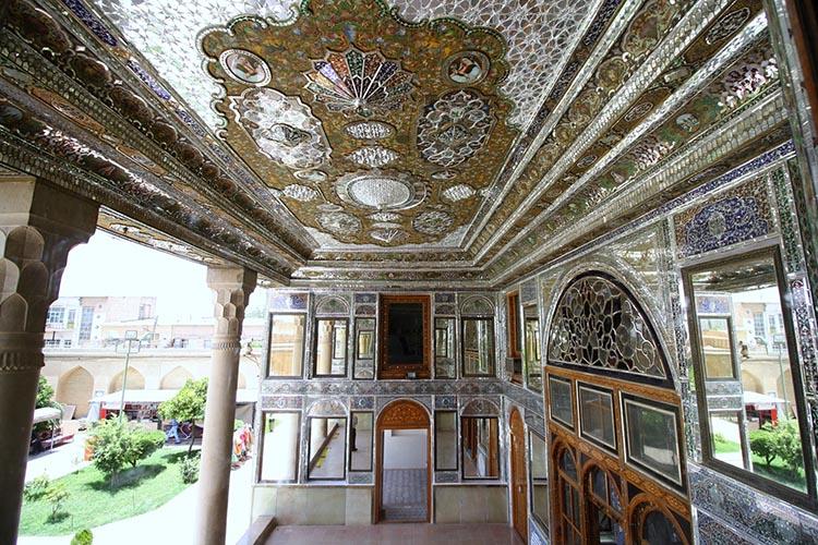 شاهکارهای معماری ایرانی - خانه قوام