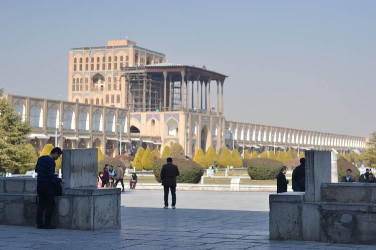 شاهکارهای معماری ایرانی - عالی قاپو