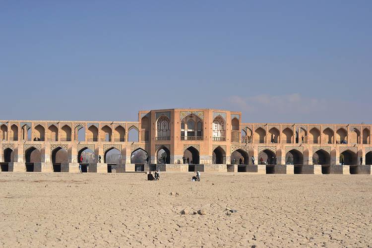 شاهکارهای معماری ایرانی - پل خاجو