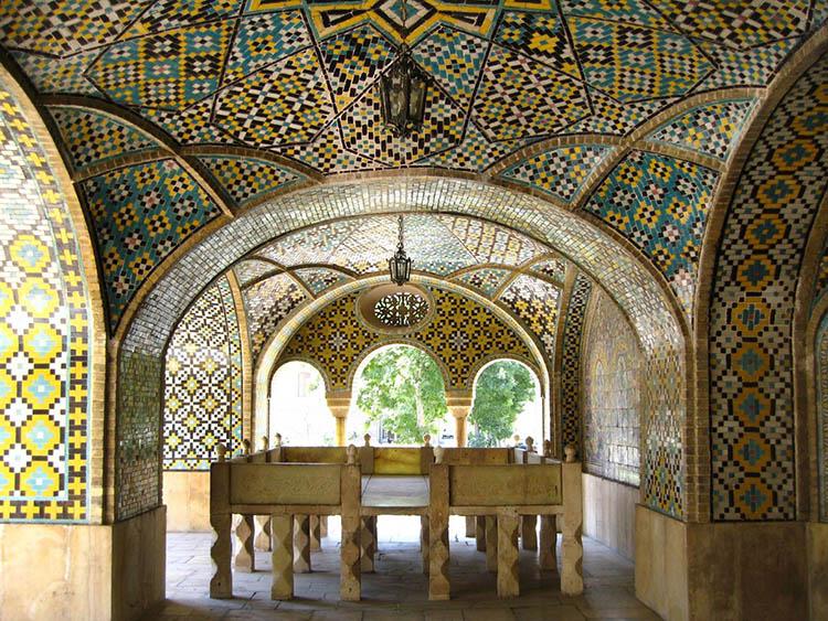 شاهکارهای معماری ایرانی کاخ گلستان