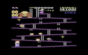 اجرای بازیهای کومودور ۶۴ به صورت آنلاین - دانکی کونگ