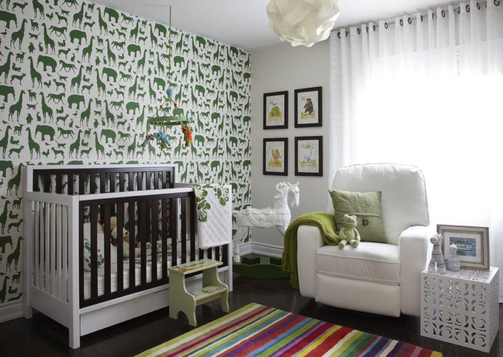 رنگ اتاق نوزاد