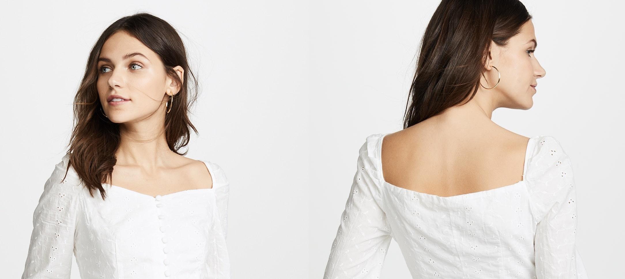 انتخاب نوع لباس بر اساس شکل اندام - یقه دلبری