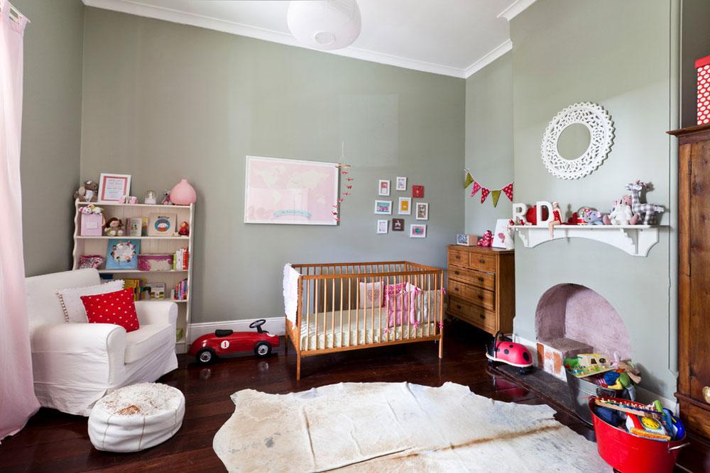 رنگ اتاق نوزاد - استفاده از تمام رنگ ها