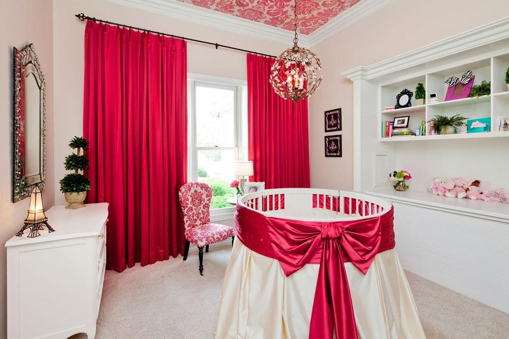 رنگ اتاق نوزاد - قرمز