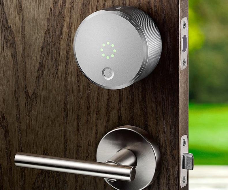 خانه هوشمند - قفل هوشمند آگوست