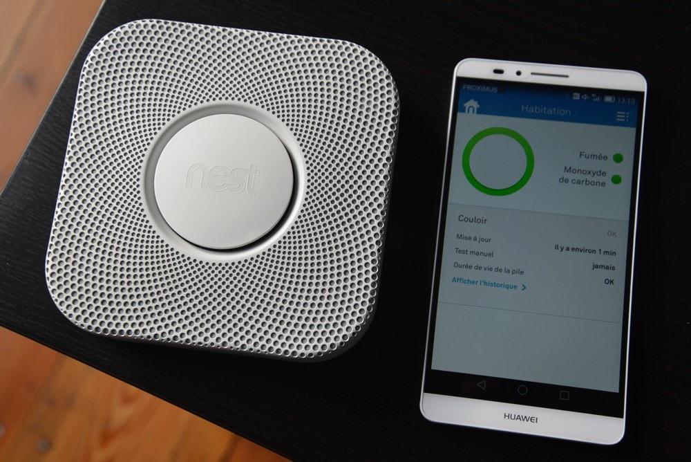 خانه هوشمند - سنسور دود هوشمند