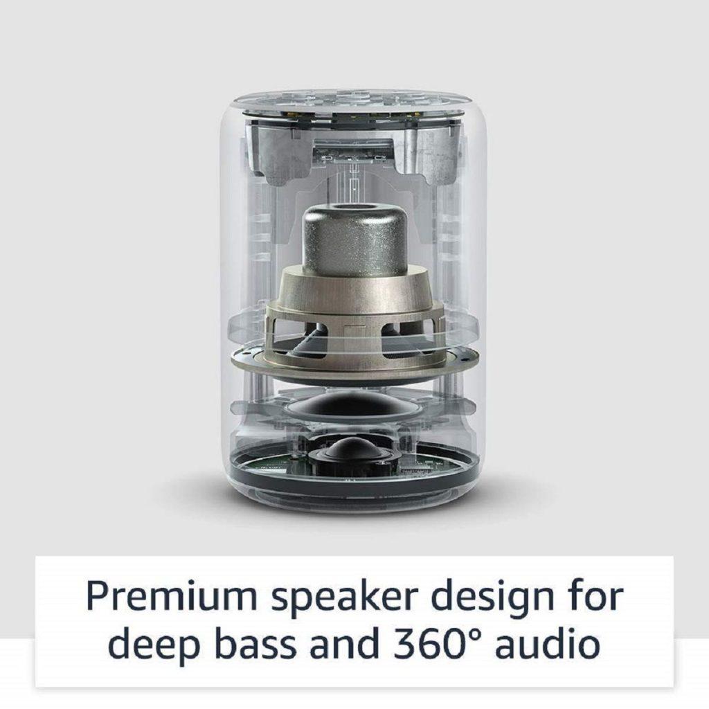 طراحی بلندگوی داخلی Echo Plus
