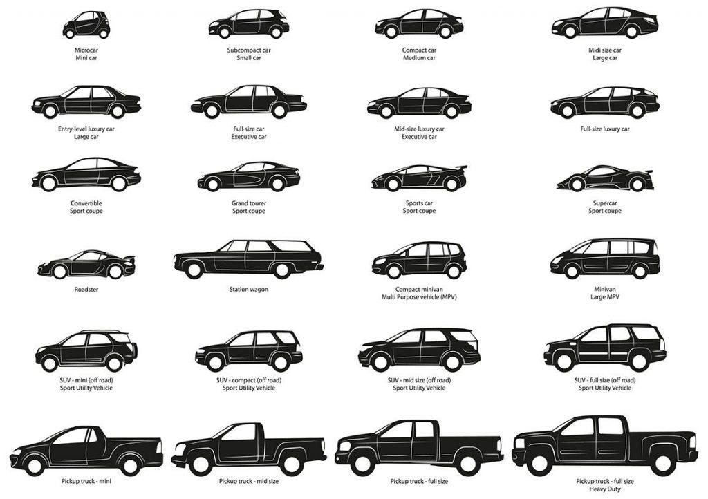 انواع خودرو