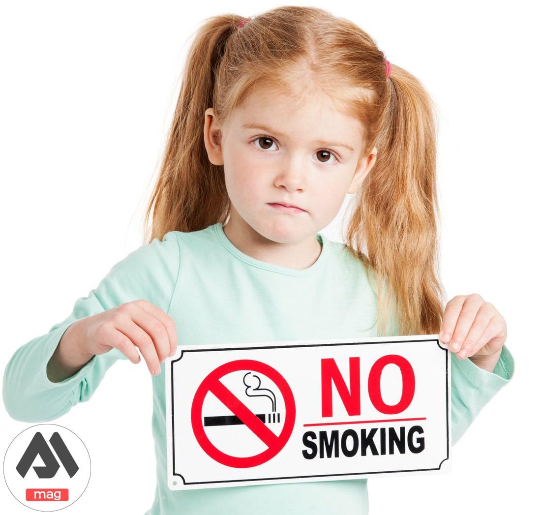 تاثیز سیگار بر سلامت کودک