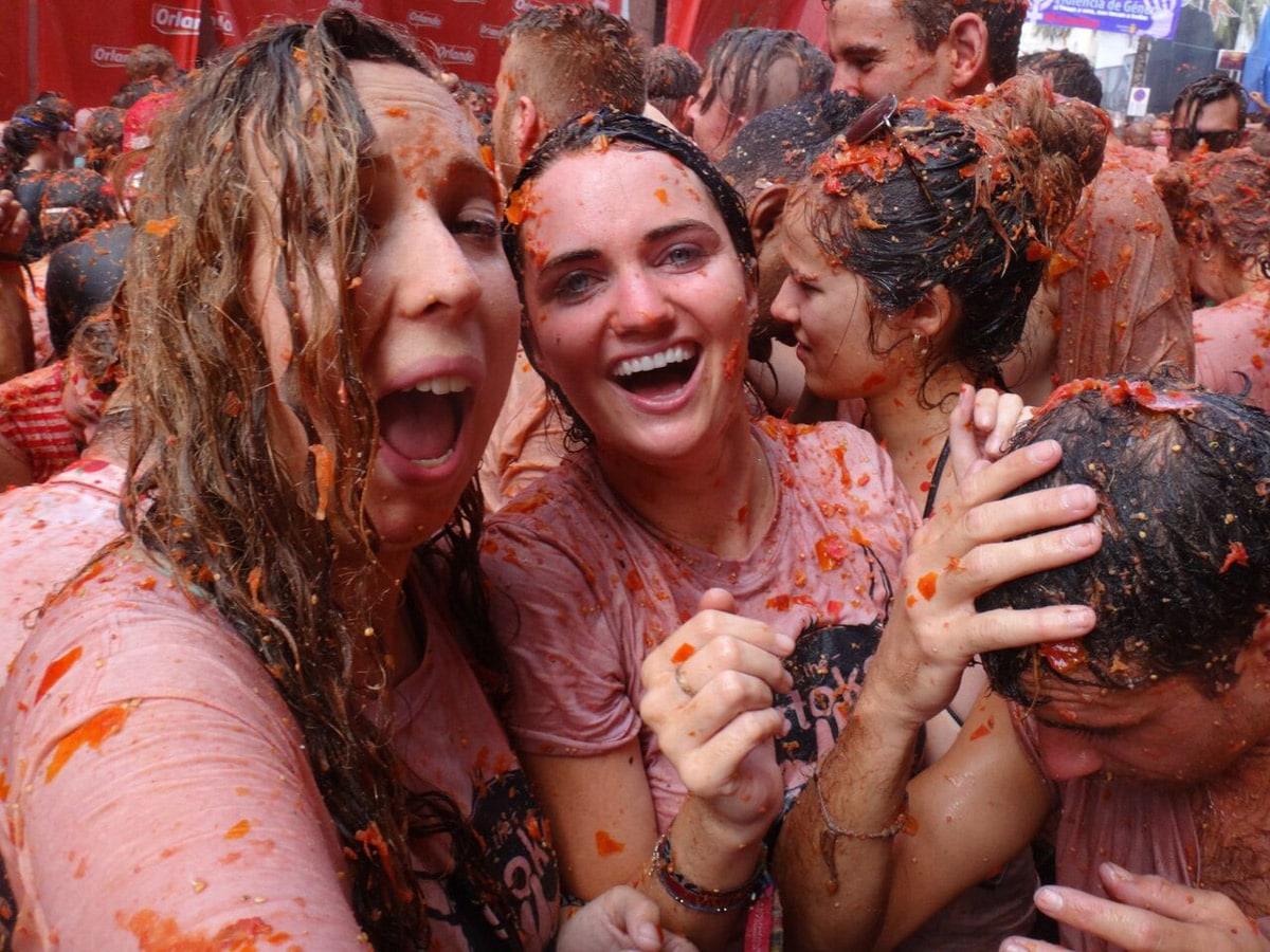 فستیوال گوجه ها
