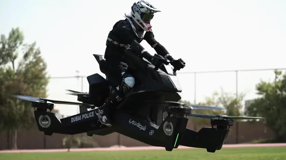 موتورسیکلت های پرنده پلیس دبی