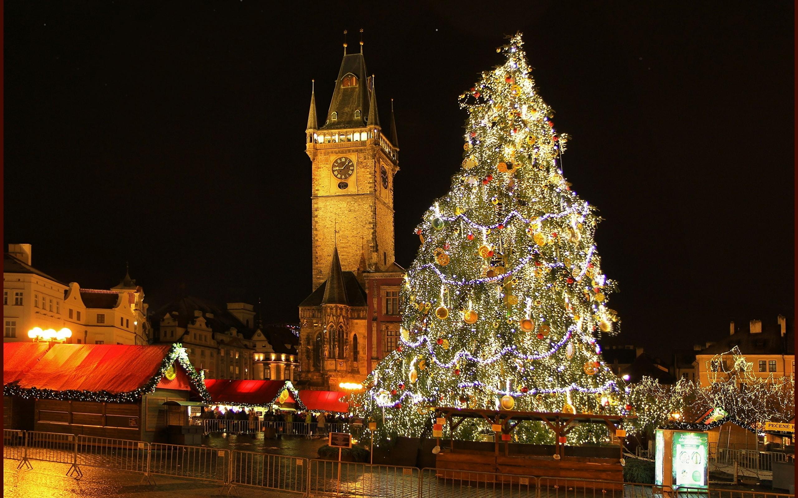 پراگ در کریسمس