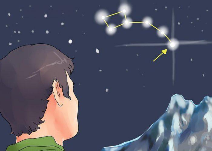 جهت یابی به کمک ستاره ها
