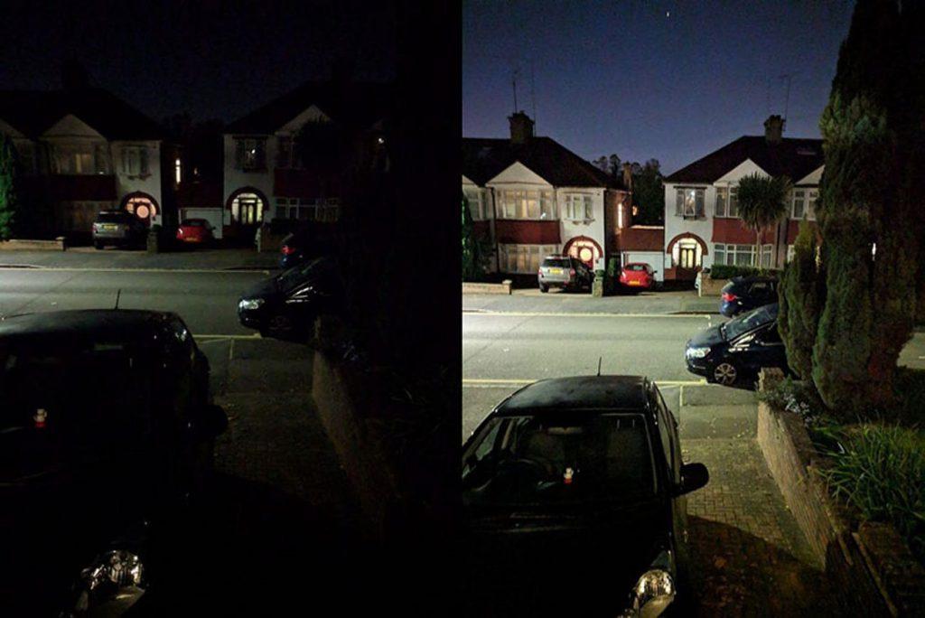 ویژگی Night Sight
