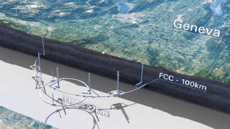 پروژه برخورددهنده ی FCC
