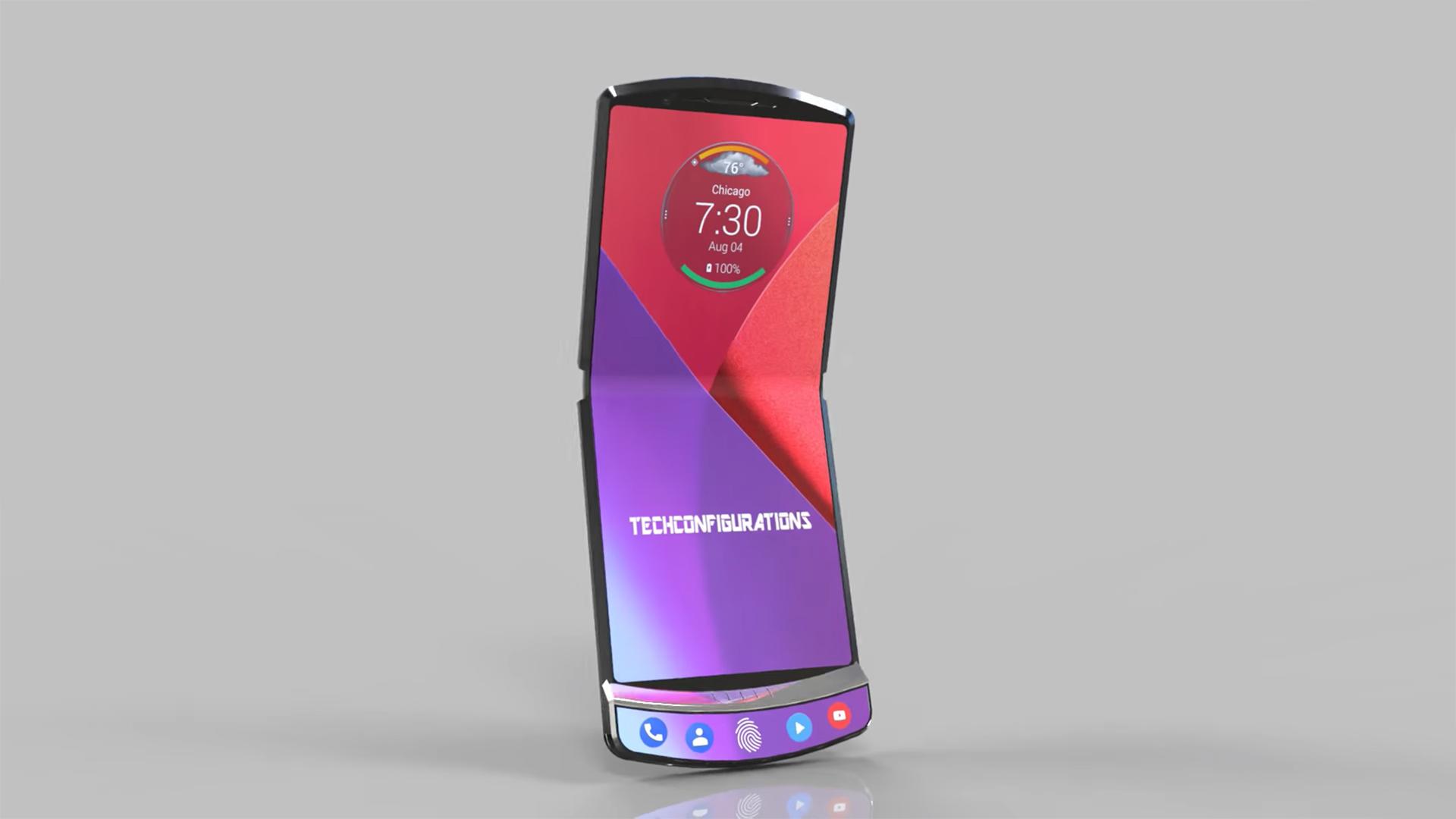 معرفی Motorola razr V4
