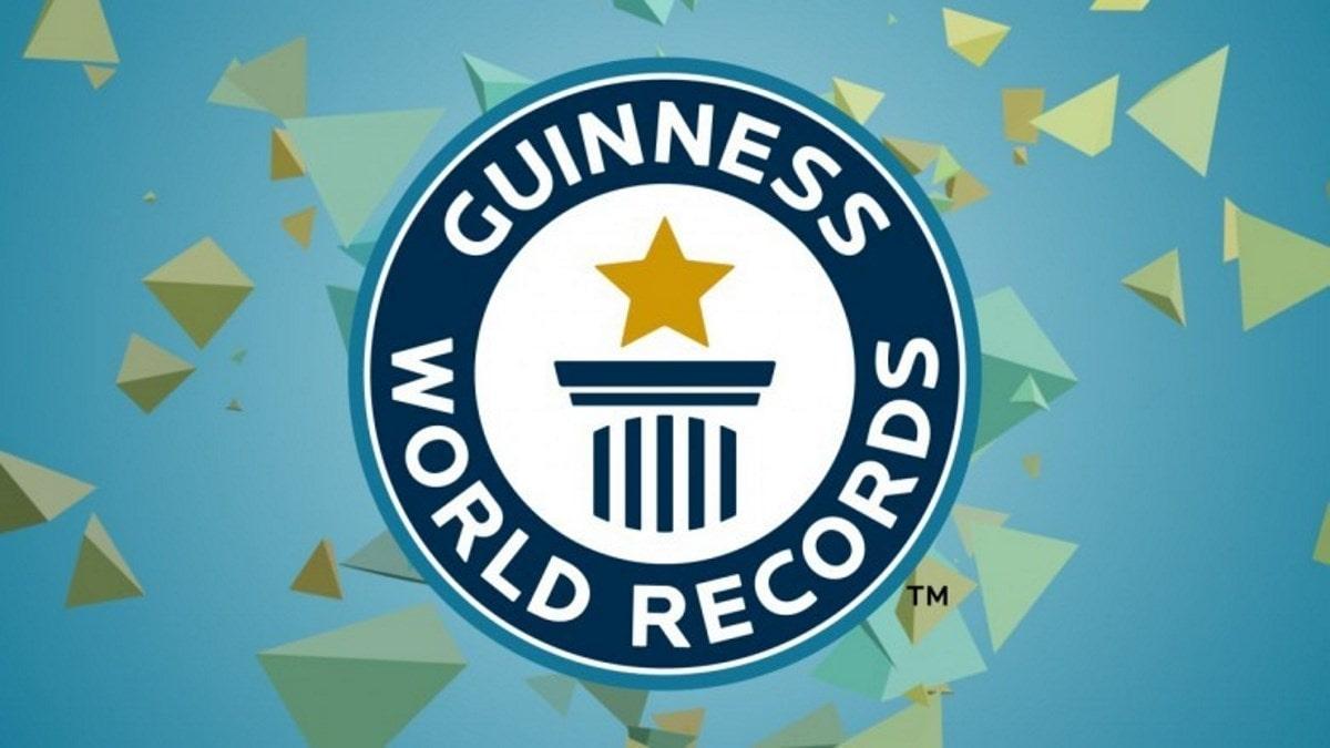 ثبت رکورد در گینس