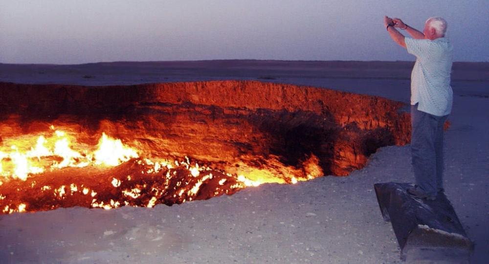 گودال آتش ترکمنستان یا دروازه جهنم