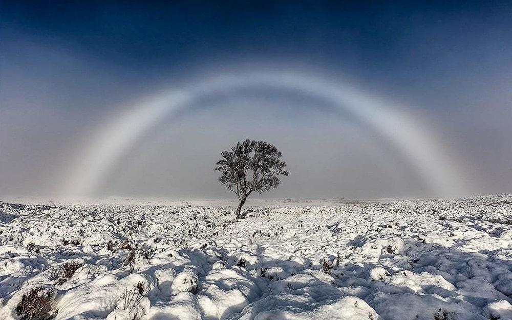 مه کمان یا رنگین کمان سفید