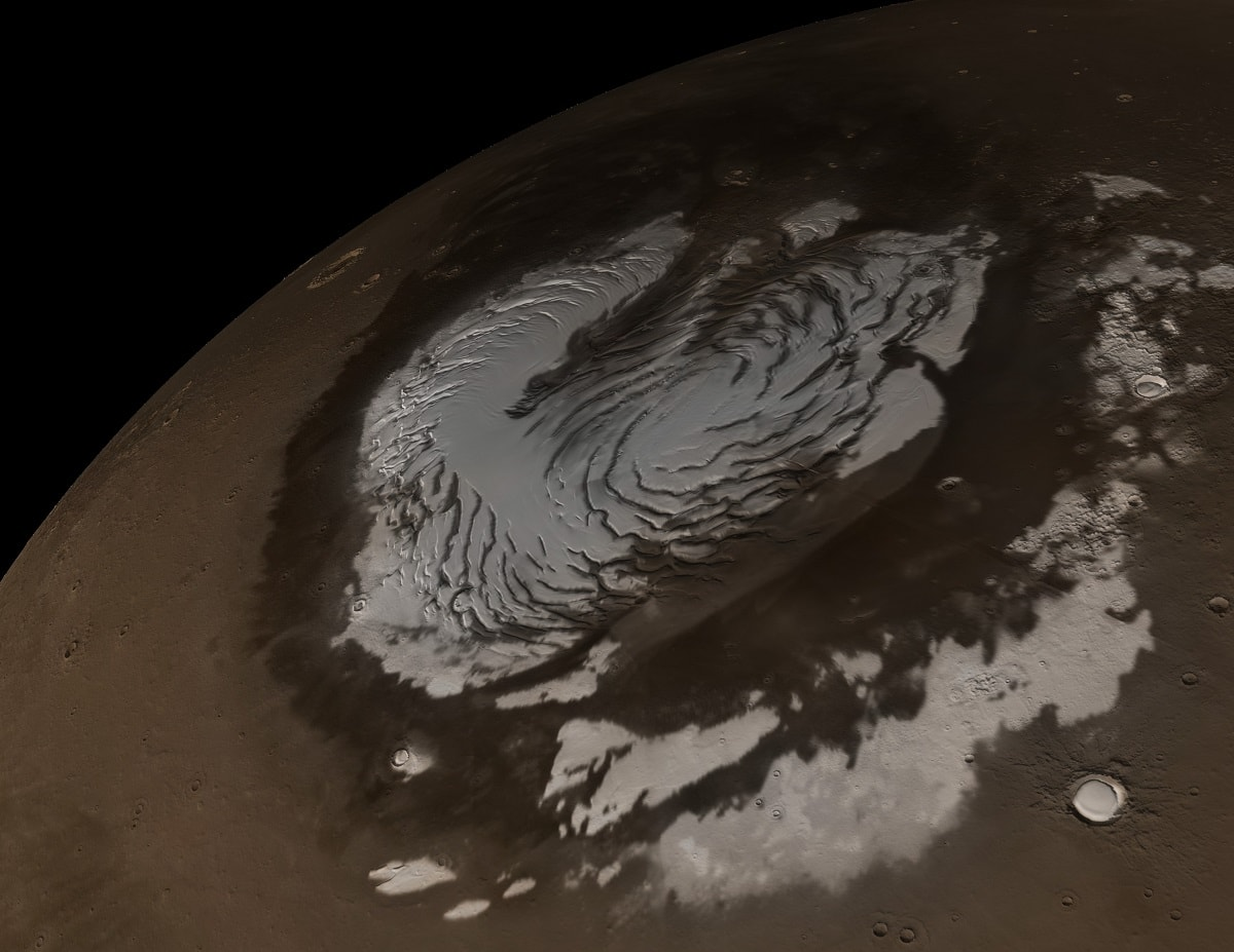 کشف علائم آب های زیرزمینی در مریخ