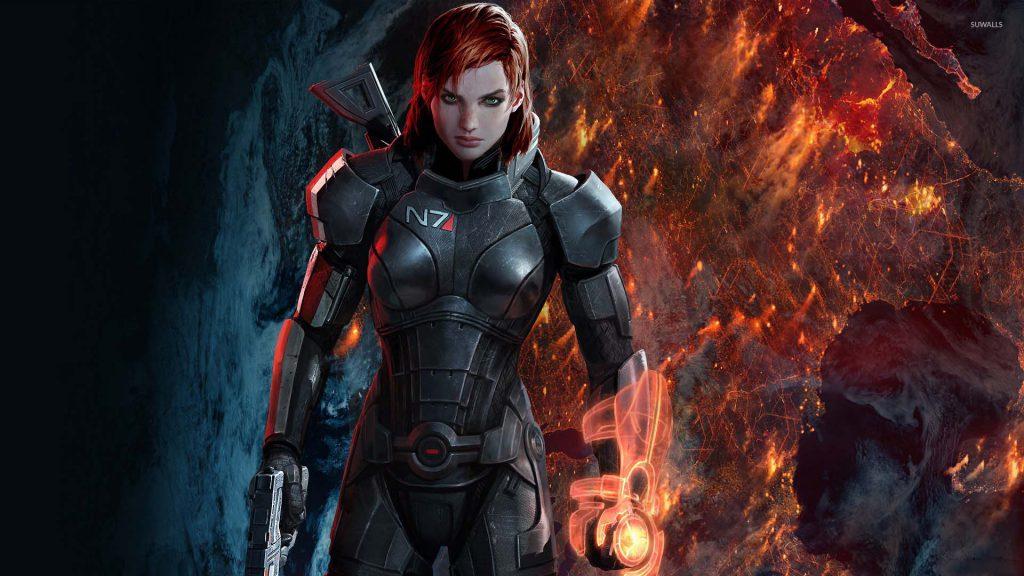 Commander Shepard در بازی Mass Effect دارای دو جنسیت زن و مرد بوده که گیمر می تواند هریک را آزادانه انتخاب کند.