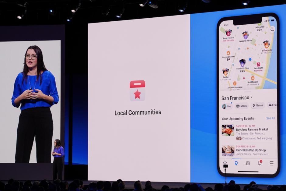 Photo of فیسبوک در کنفرانس F8 از تغییرات اپلیکیشن موبایل گفت