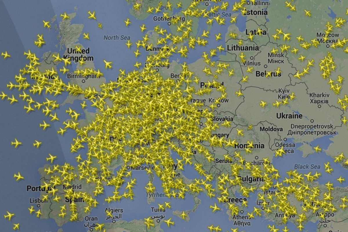 اپلیکیشن Flightradar
