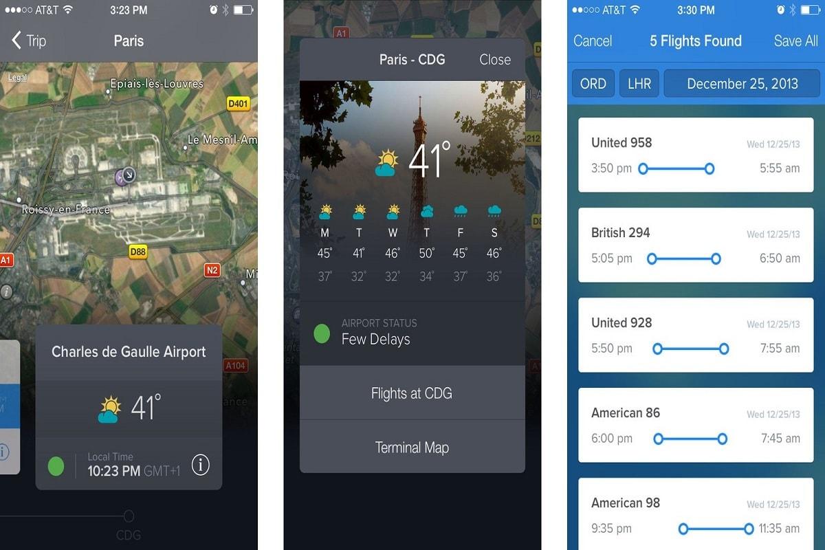 نرم افزار FlightTrack Pro v4.4.1 از بهترین اپلیکیشن های ردیابی پرواز