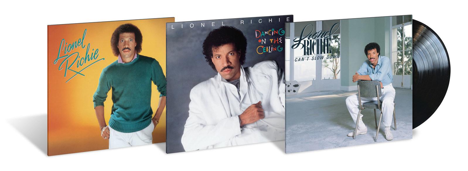 آلبوم های پرفروش لیونل ریچی