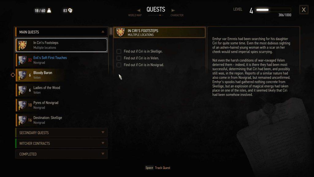 اصطلاحات گیمینگ: Questهای بازی The Witcher 3