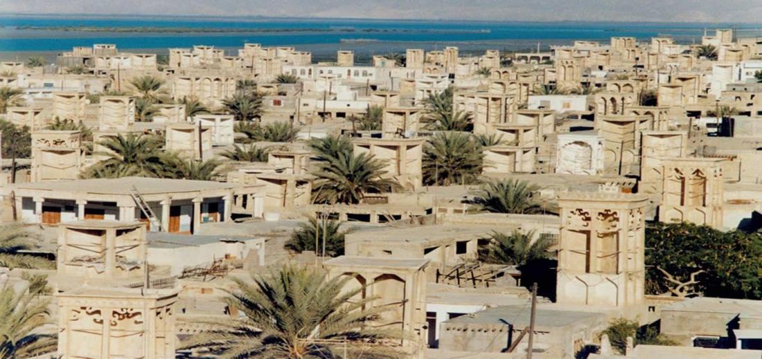 روستای لافت در قشم