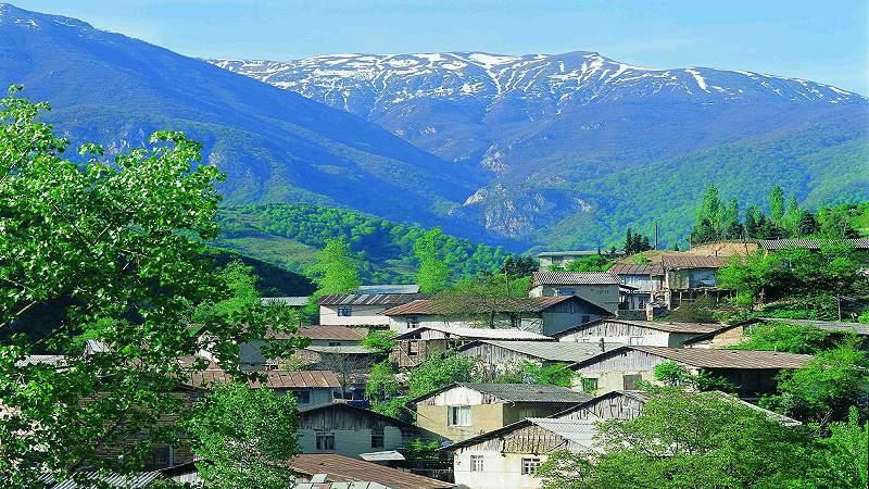 روستای زیارت در گرگان