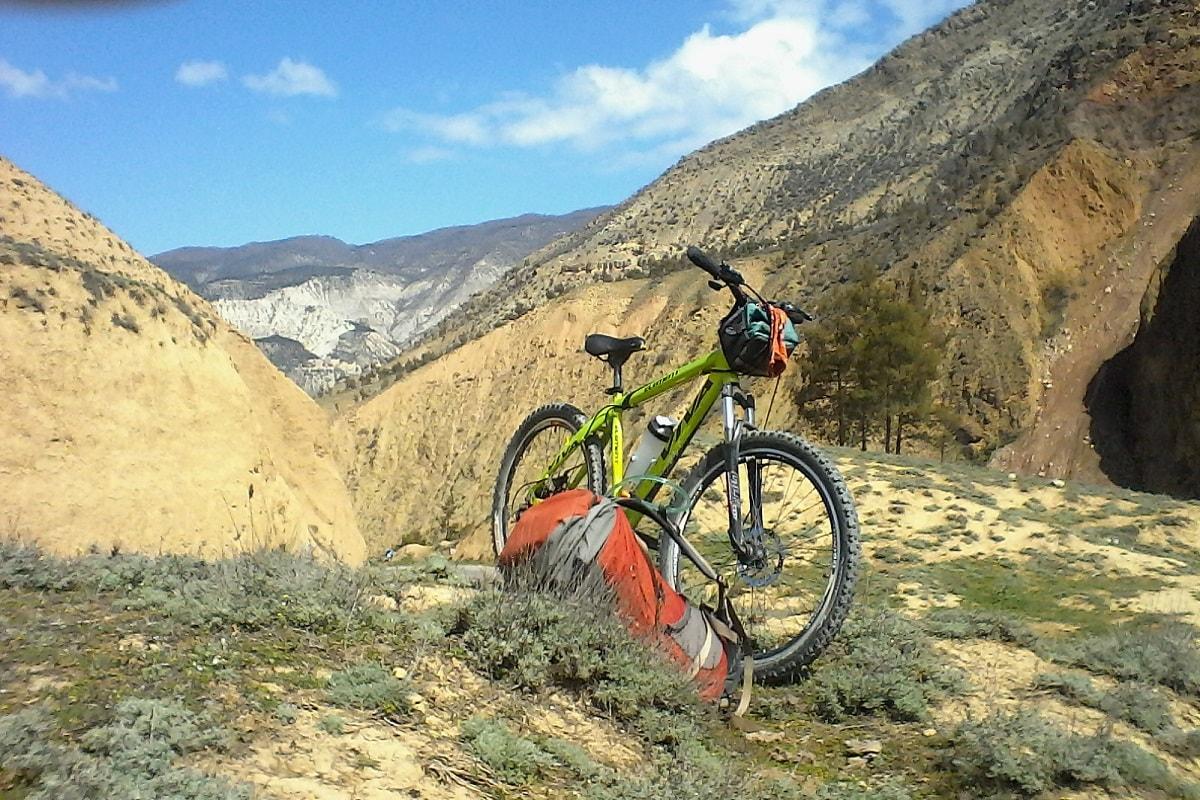 مسیر دوچرخه سواری کجور