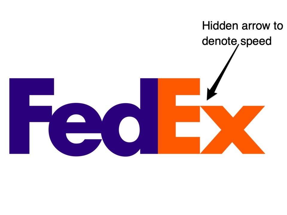 لوگو برند FedEx