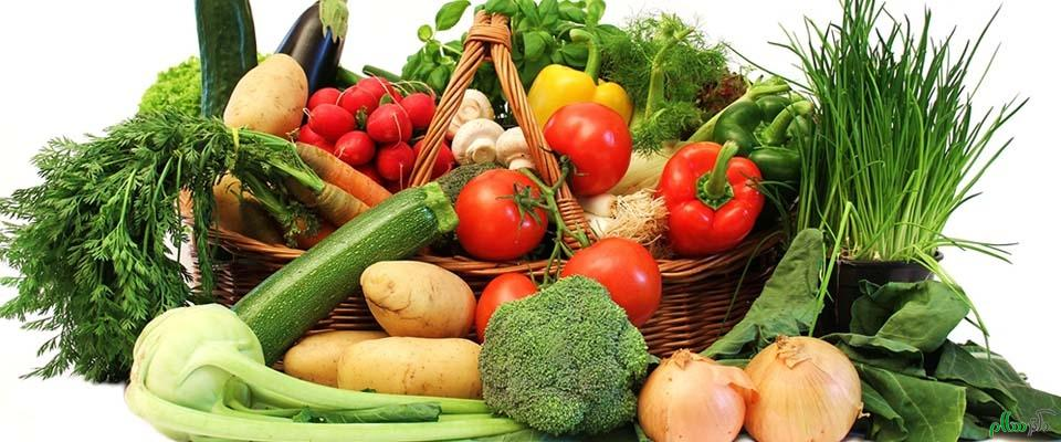 میوه و سبزی انرژیزا