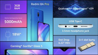 Photo of گوشی Redmi 8A Pro به طور رسمی معرفی شد