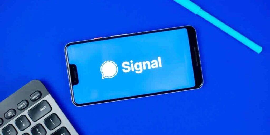 نصب اپلیکیشن سیگنال