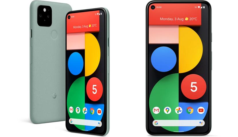 گوشی موبایل Google pixel 5