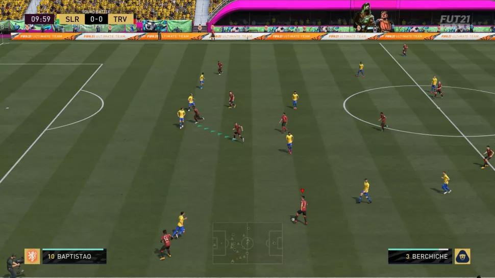 تکنیک بازی فیفا 21