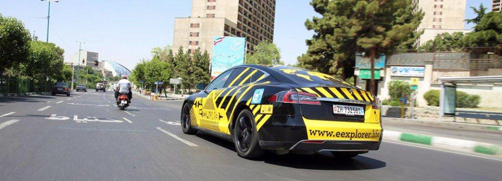 ماشین های تسلا در ایران
