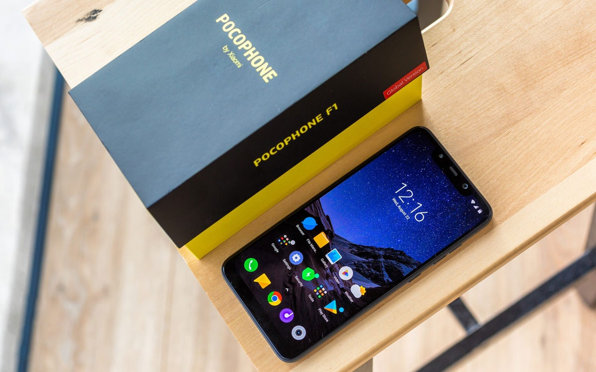 گوشی موبایل شیائومی مدل Pocophone F1