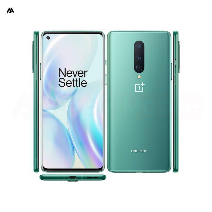 گوشی موبایل وان پلاس 8 سبز - oneplus 8 Glacial Green