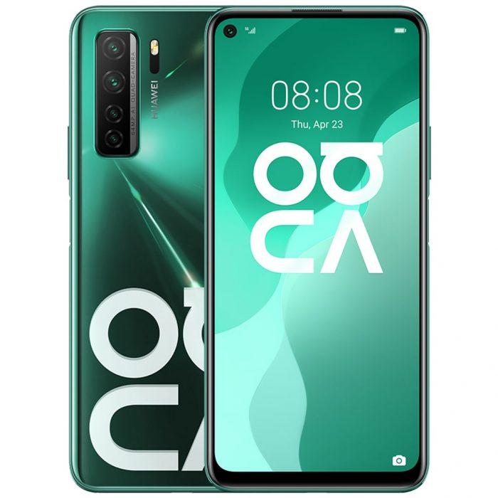 گوشی موبایل هوآوی Nova 7 SE سبز
