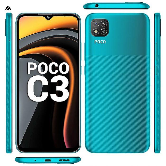 گوشی موبایل شیائومی مدل poco c3